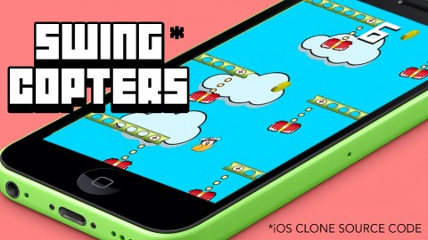 Game Reskinning. iOS Swing Copters Source Code Template