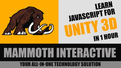 Learn JavaScript in unity 3d in 1 hour for beginners