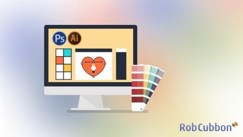 Real World Graphic Design- Adobe Photoshop and Illustrator