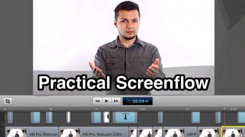 Screenflow 5- Video editing for teachers and presenters