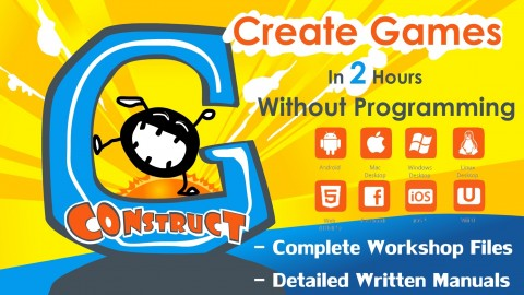 Create Desktop and Web Games In 2 Hours Without Programming