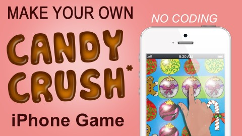 Earn Money Making a Candy Crush* iPhone Game Today. iOS Code