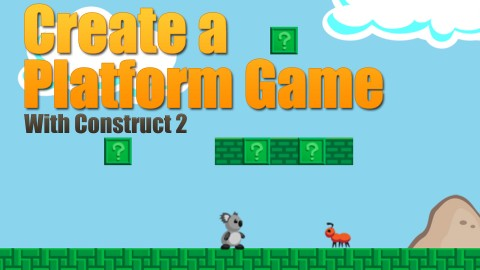 Platform Game Creation With Construct 2 (HTML5)